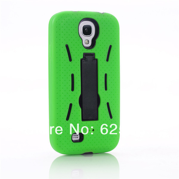 [SS-89] Hybrid Silicone PC Heavy Duty Kickstand Kick Stand Case Housing for Samsung Galaxy S4 SIV S IV I9500 (9).jpg
