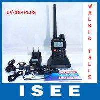 Рация 2 Pcs/Lot BaoFeng UV-3R Plus dual band radio Channel Step: 5/6.25/12.5/25KHz