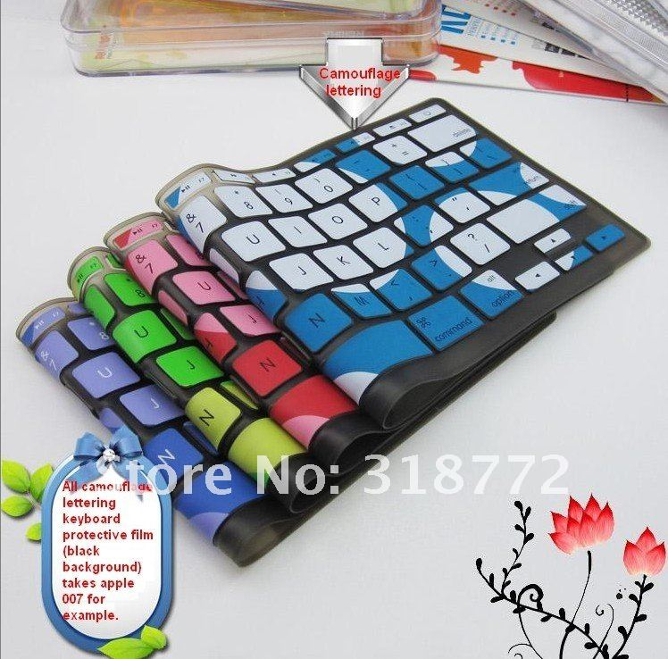 10pcs/Lot Half untransparent Keyboard Silicone Protector Cover for  Sony SZ AR C FS FE FJ FZ N NW FW EA EG EK Laptop