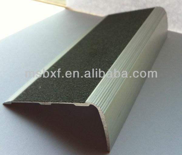 Metal stair nose molding aluminum stair nosing stair trim - Alfombras para escaleras ...