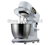 Миксер 1 set/ctn1000W Multifunction Professional Bowl-Lift Stand Food Mixer Dough mixer food machine 5L White color