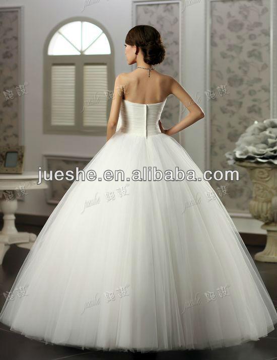 Fashion New Design Elegant Ball Gown Suzhou Wedding Dress 2013