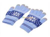 Перчатки, митенки и др. емкостный сенсорный перчатки полосатый стиль