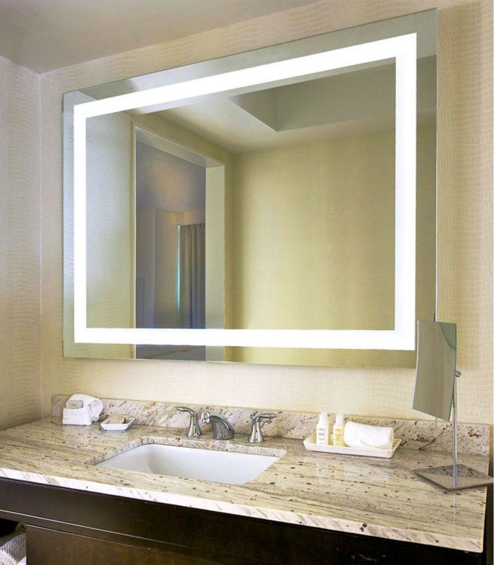 bao accesorio de iluminacin trasera espejo de pared espejo