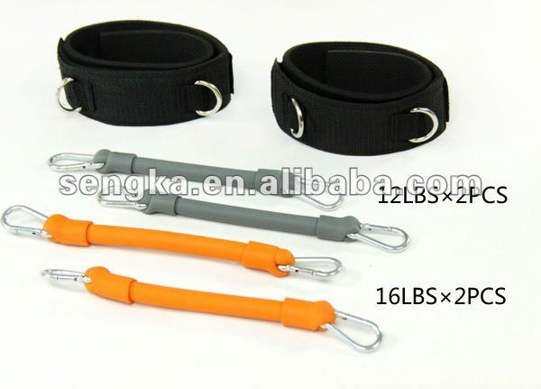 latex tubing training taekwondo training equipment