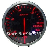 Прибор для авто 60MM Defi Gauge, Defi BF Gauge, car meter Vacuum Meter, Red and White Colors Light, AirMail