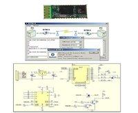 Оптоэлектронный дисплей Wireless Bluetooth Transceiver Module RS232/TTL 2.4GHz