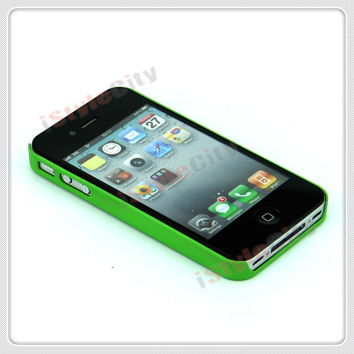 Color printing painted hard PC case for iphone