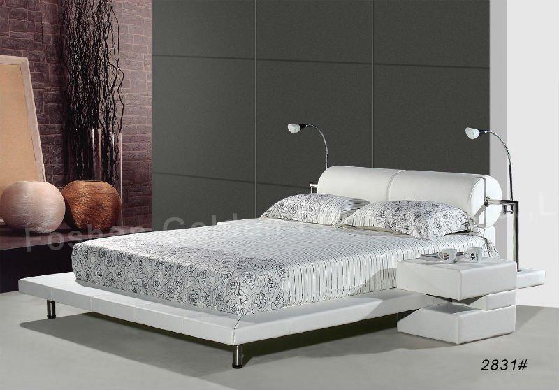 I2831# Latest Design Home Furniture Double Bed Design Furniture
