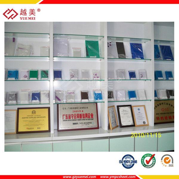 guangzhou yuemei platic sheet manufacturer good quality twin wall hollow sheet price