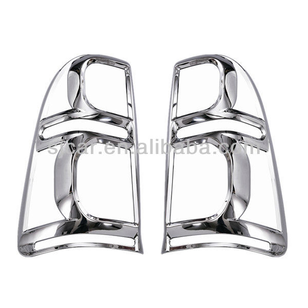 Toyota hilux 2012 ABS Chromed tail light cover