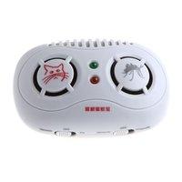 Стирально-моющие средства 2-in-1 Electronic Ultrasonic Mouse & Mosquito Repeller Dropshipping