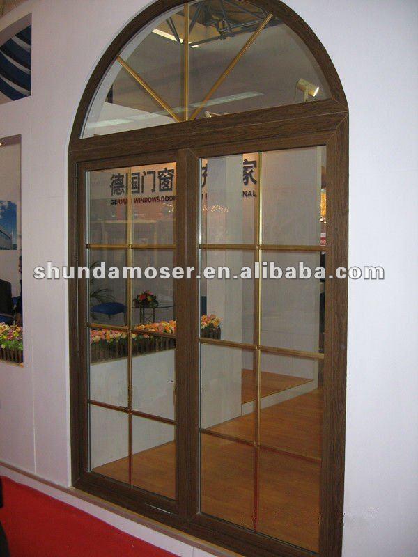 Moser estilo alem n interior de doble puerta de madera - Maderas para arcos ...