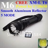 Фонарик M6 CREE xm/l T6 AluminumTorch 5 18650 C6