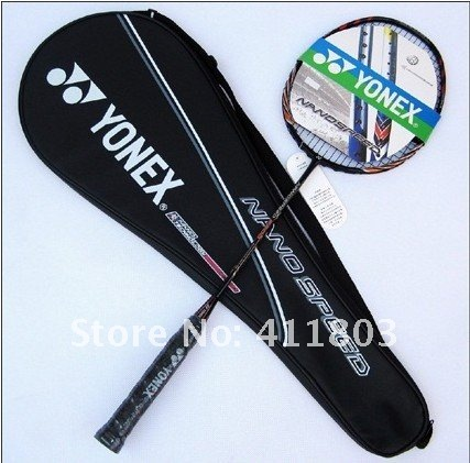 2 pieces/lot badminton racket racquet nanospeed 9900 100% carbon fibre accept Credit card