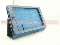 New arrival,Hight qualitty leater case for Google Nexus 7 tablet,screen protector for free,10pcs/lot