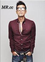 Мужская повседневная рубашка Korean version of the 2012 men's fashion casual men's shirt cotton long-sleeved shirt Slim 1152