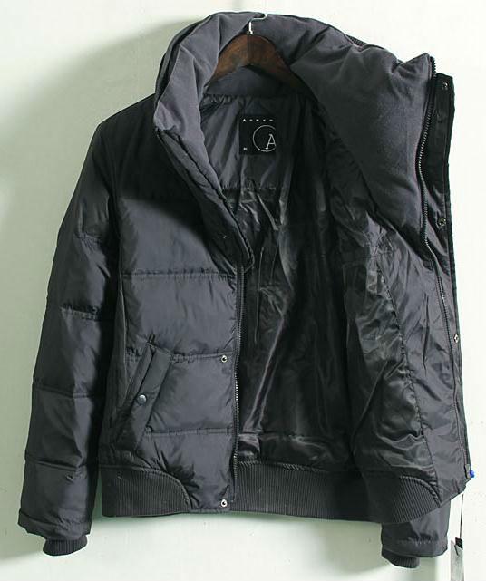fshion collo alto cotone giacca cappotto