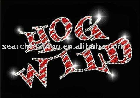 Iron Font Letters Funny Font Letter 'hog Wild'