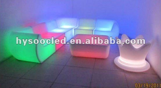 lounge chair/mordern chair led/lighted bar chair