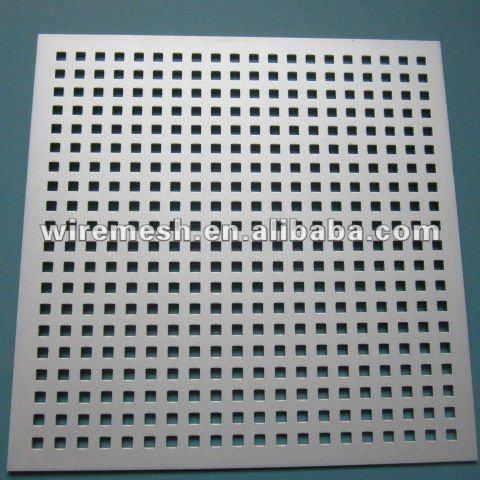 In acciaioinox lamiera forata( 4mm di spessore, 6mm foro rotondo, 10mm pitch, 60 gradi)-Filo di ...
