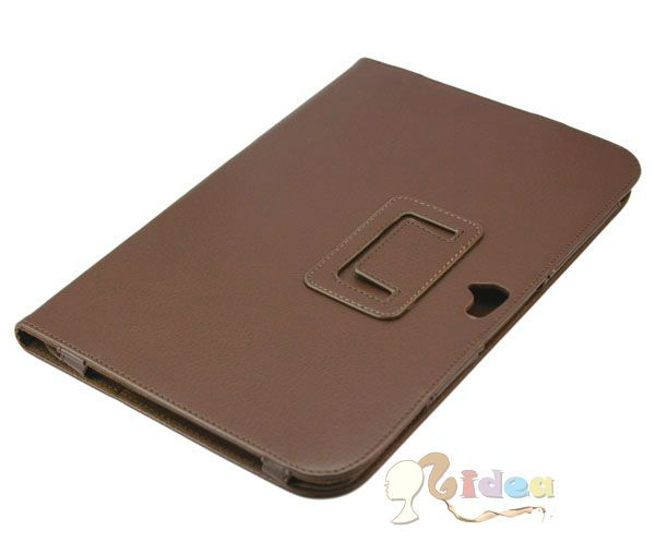 for Google Nexus 10 Stand Leather Case Nexus 10 Folio Stand Case Brown