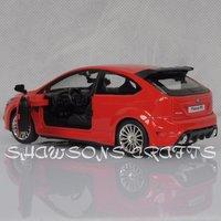 Игрушечная техника и Автомобили DIECAST 1/32 SOUND & LIGHT PULL BACK FORD FOCUS RS MODEL CAR REPLICA