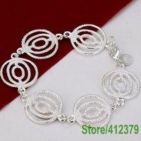 LQ-H129 Free shipping wholesale 925 sterling silver bracelets, fashion jewelry angle eyes Jewelry Bracelet chaaky iatpqa