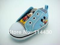 ecmall-di017 # мыши синий Жан мальчик baby обувь & мальчик baby обувь первый работник Обувь Кроссовки Обувь спортивная