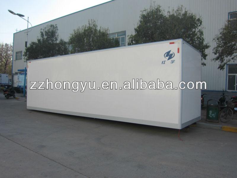 4x2 cargo truck/cargo box/dry cargo box truck van