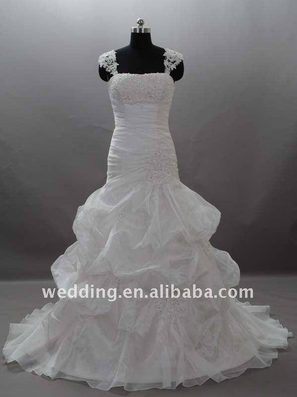 muslim puffy suzhou perfect wedding dress 2011