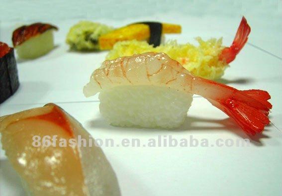 artificial food keychain,plastic toy mini food,miniature artificial food