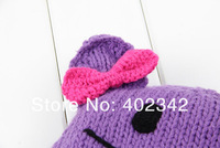 Шапка для мальчиков Lovely Children Hats Winter Baby Hat Handmade Knitted Kids Caps Children Winter Cap