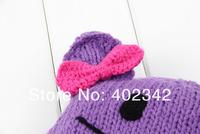 Шапка для мальчиков Lovely Children Hats Winter Baby Hat Handmade Knitted Kids Caps Children Winter Cap