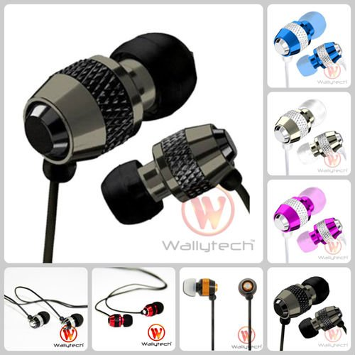 WEA-081 metal earphone all color