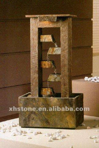 Venda hot modern fontes decorativas de interior 24 anos - Fuentes de agua interiores ...
