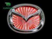 Free Shipping ! .Car LED Badge, car badge light ,Car led mark for Mazda Mazda2/3/6 car+18months warranty