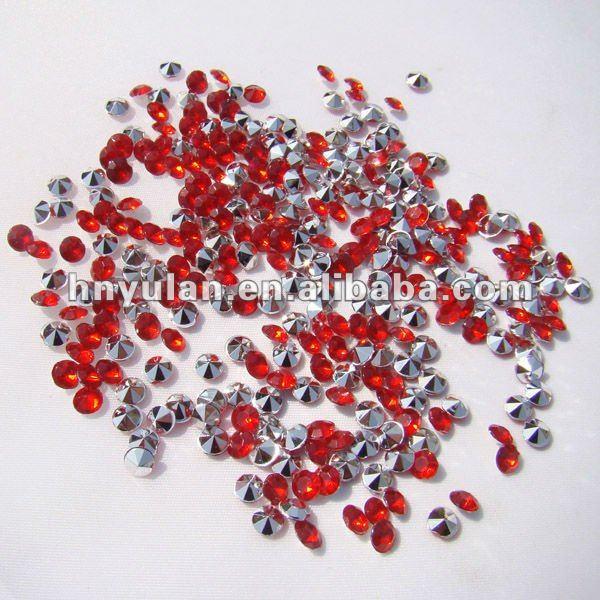 Decorar bolo de casamento de mesa red diamond confetti casamento diamonds