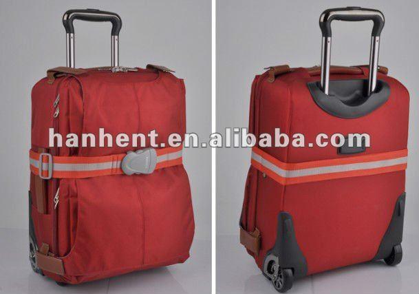 Tsa ceinture rouge sangle de verrouillage pour bagages