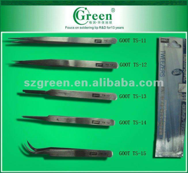 GOOT TS-14 Stainless Precision Tweezers Extra Fine Thin Sharp