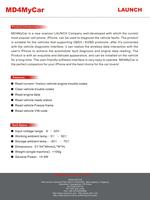 Оборудование для диагностики авто и мото Launch 100% MD4MyCar OBDII/EOBD iPhone WiFi /shippig