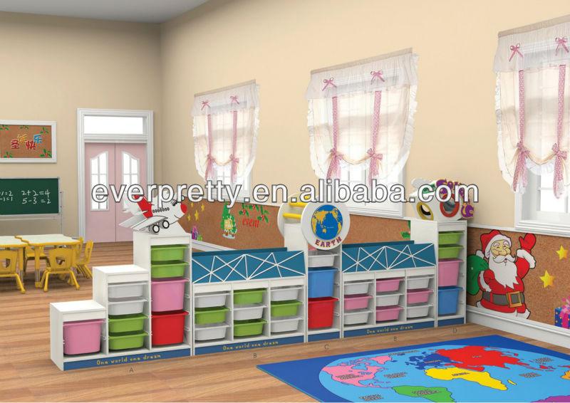 Enfants en bois de stockage jouet armoire meubles pour day - Meuble rangement jouet ikea ...