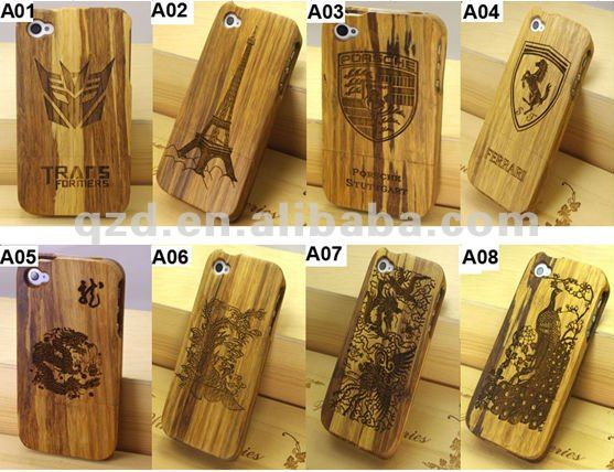 custom design cell phone wood case for iPhone 5/5s