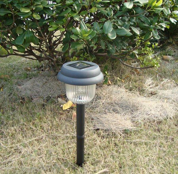 iluminacao jardim solar:Luz Solar do jardim poste de luz material plástico, Jardim