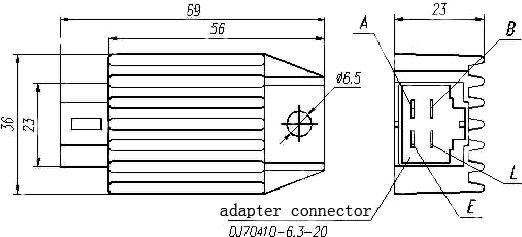 gy6 regulator rectifier for honda motorcycle parts buy regulator rh alibaba com honda rectifier wiring diagram honda regulator rectifier wiring diagram