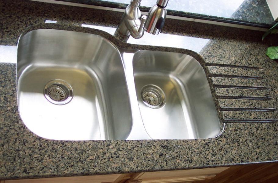 Undermount Kitchen Sink Stand with Granite countertop