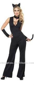 1920 ruggente Charleston Gatsby 20s abito vestito flapper costume nero rosso