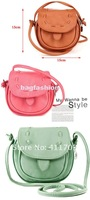 Сумка через плечо Korea Girls Handmade Musette Drum leather bag Pattern Small Shoulder bag messenger Handbag 5057