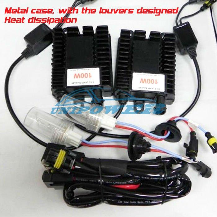Best 100W HID Xenon Conversion kits H1 H3 H4 H7 H8 H9 H11 9005 9006 880 881 for Truck Light