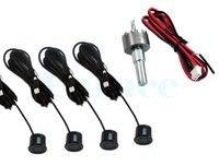 Система помощи при парковке 12V LED Display Indicator Car Parking 4 Sensor System Reverse Backup Radar Kit Black 1459